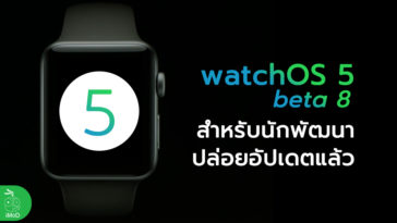Watchos 5 Beta 8 Developer Seed Update