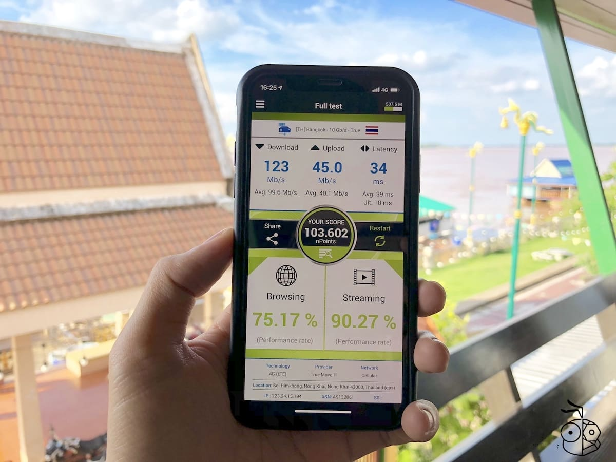 Iphone X Truemove H Nperf