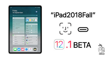 Ipad Pro 2018 Feature Found At Ios 12 1 Beta