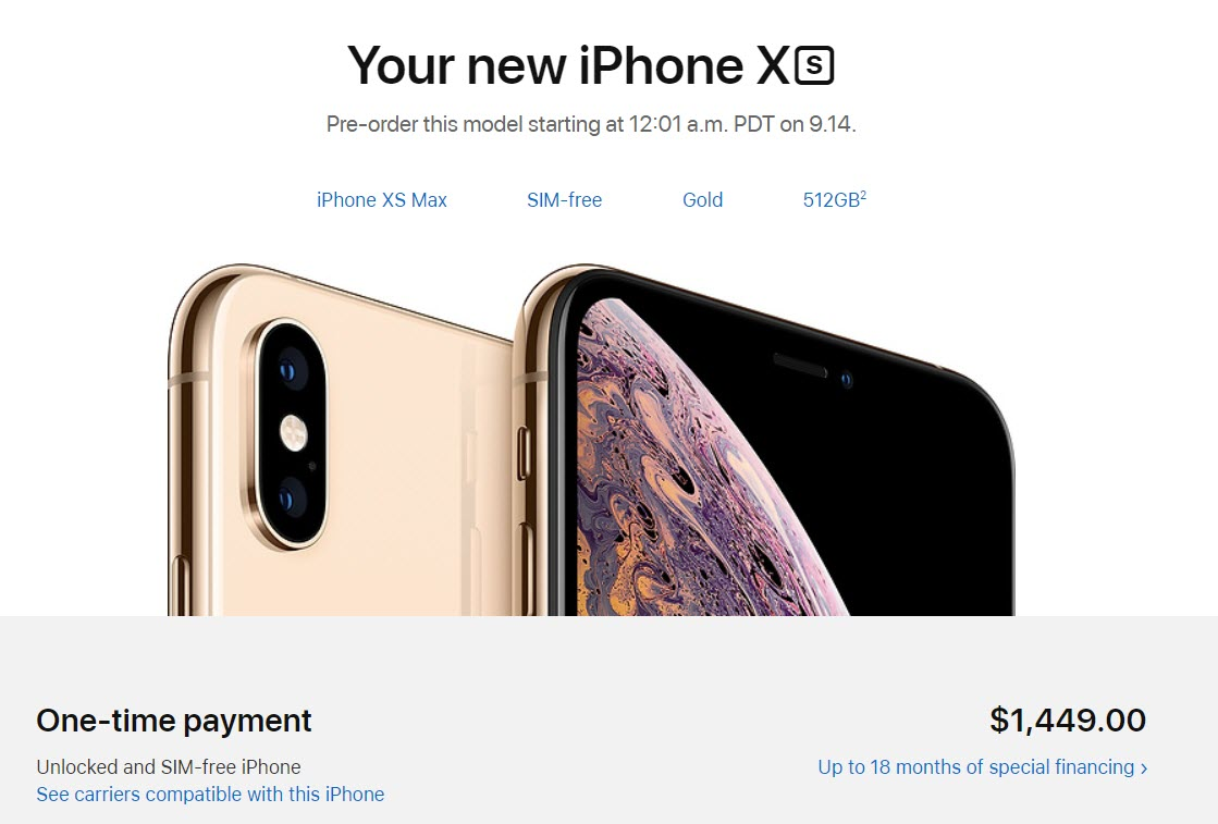 Iphone Xs Max Maximum Price Expensive 1