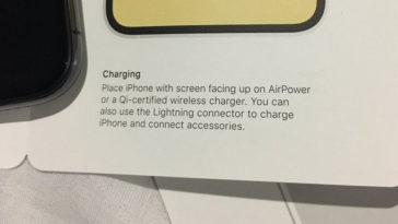 Iphone Xs Mention Support Airpower