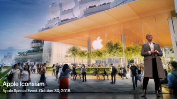 Apple Iconsiam Image At Special Event Oct 2018
