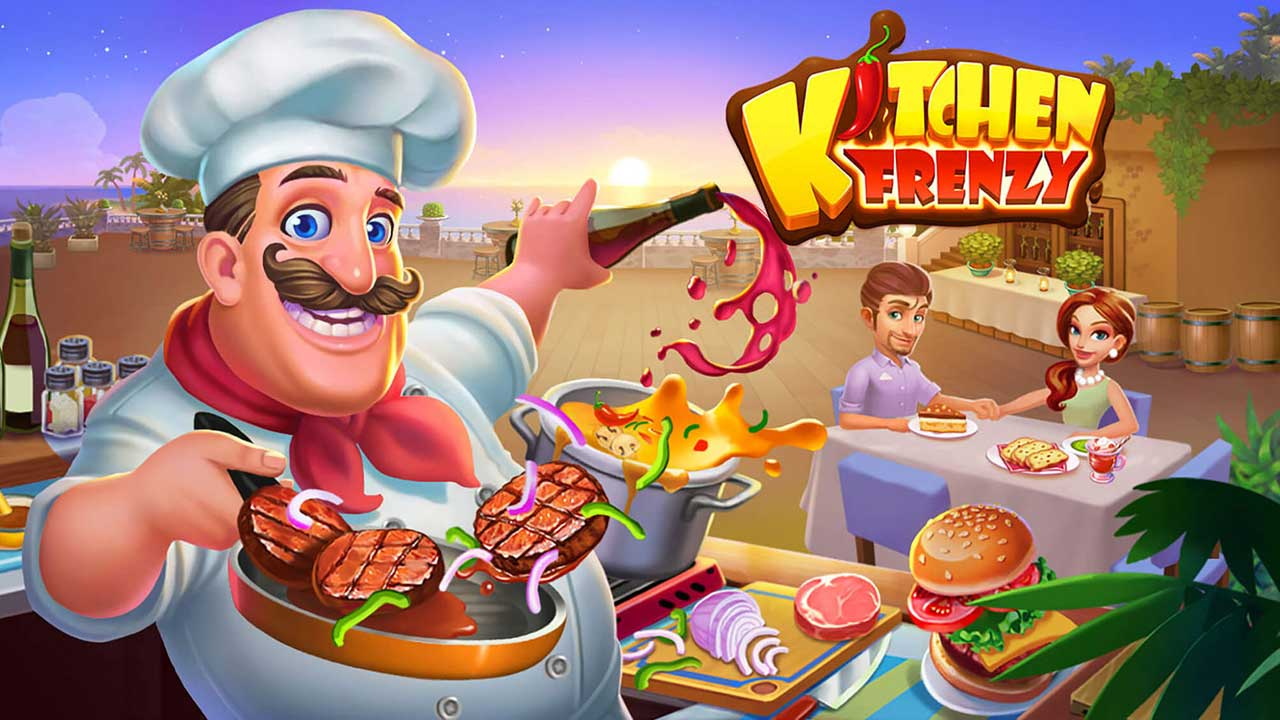 Game Kitchen Frenzy Cover