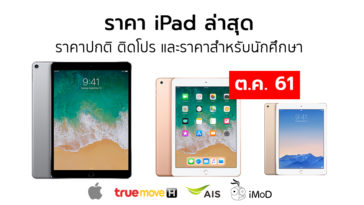 Ipad Price List Oct 2018
