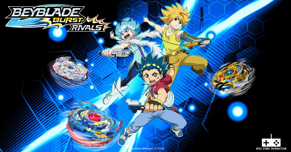 Game Beyblade Burst Rivals Content1