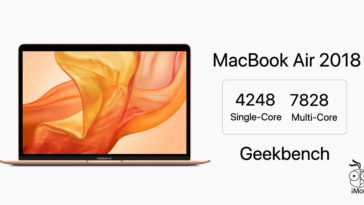 Macbook Air 2018 Geekbench Report Cover