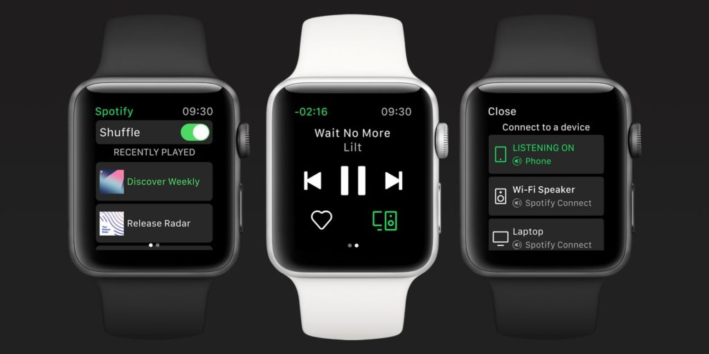 Spotify Release For Apple Watch 1