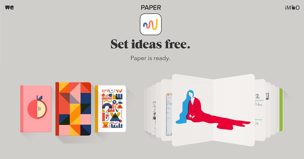 App Paper By Wetransfer Cover