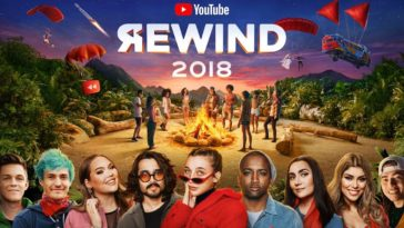 Youtube Rewind 2018 Cover