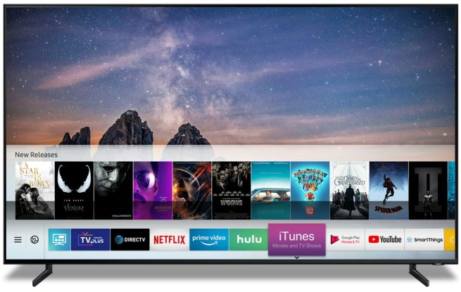Apple Partnership With Amsung Add Itunes Airplay 2 To Samsung Smart Tv 1
