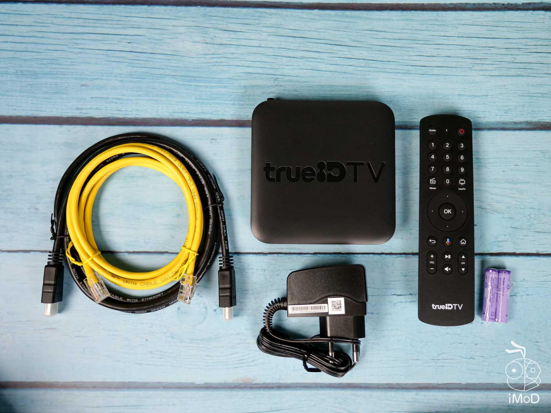 รีวิวกล่อง trueID TV รุ่นที่ 2 ใหม่ กล่อง Android TV ดู