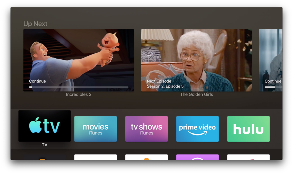 Apple Tv App Test In Tvos 12 3 Beta1