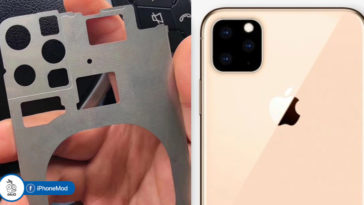 Iphone 2019 Rear Chassis Triple Lens Camera Photo