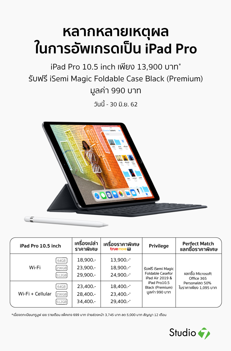 Studio7 Ipad Pro 10inch Promotion June19
