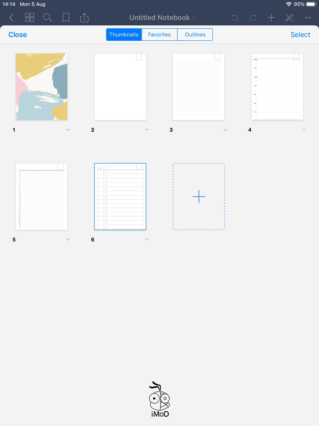 How To Change Paper Template Goodnotes 08