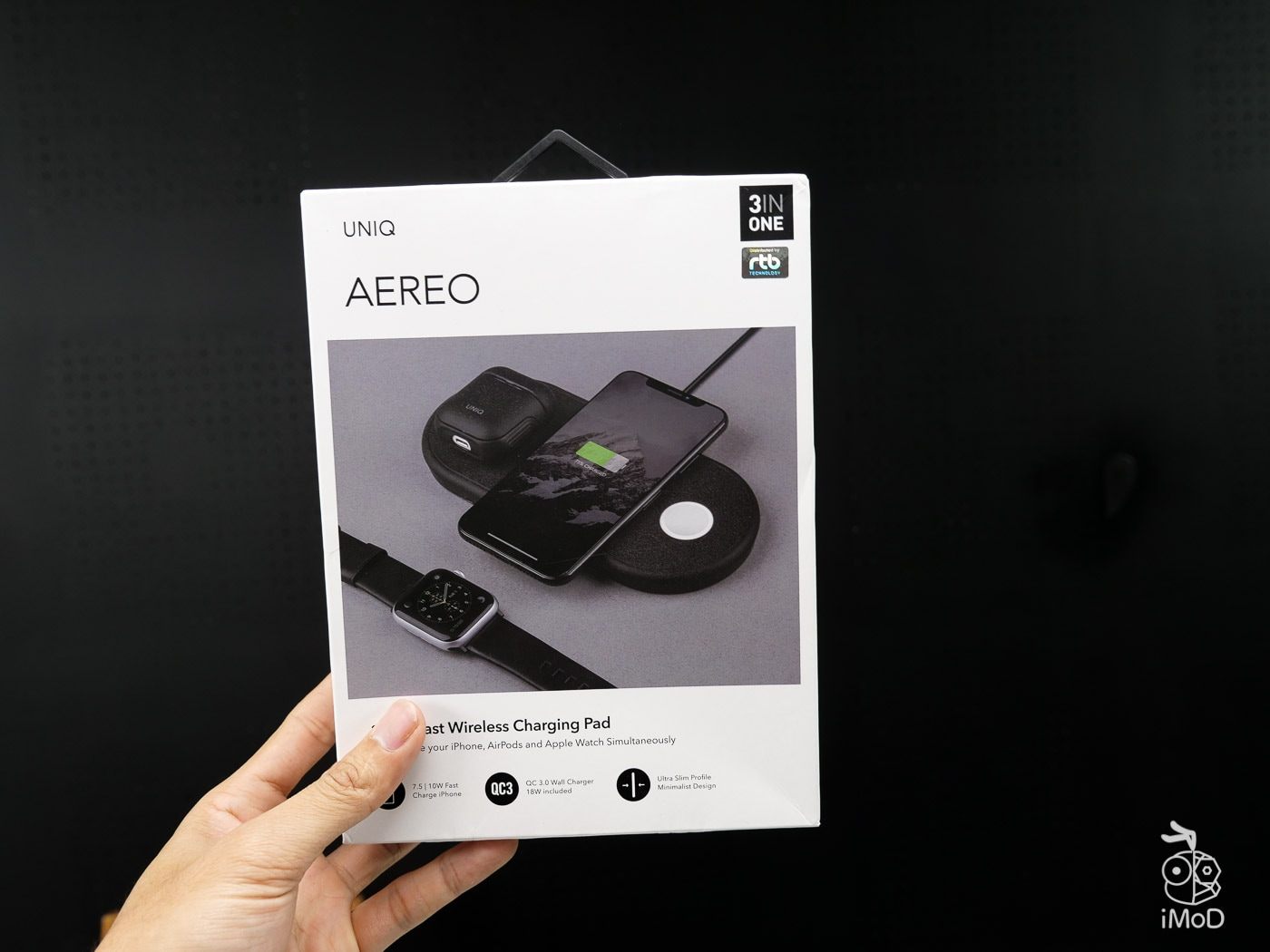 Uniq Aereo 3 In 1 Wireless Charging Pad Review 1299789