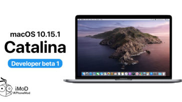 Macos Catalina 10 5 1 Developer Beta 1 Seed