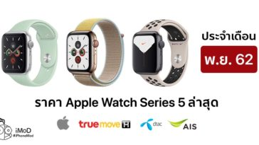 Apple Watch Series 5 Nov Price List 2019