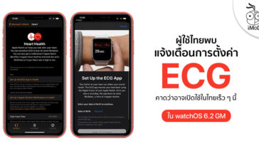 Apple Watch Notification Alert Ecg Setting Watchos 6 2 Gm Version Thailand